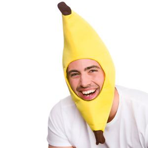 Banana Comedy Clown Headgear Hat Fancy Dress World Book Day