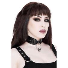 Killstar Gothic Goth Okkult Punk Choker Halsband - Oblivion Schädel Skull