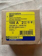 NIB QO2100VH1021 Square D Shunt 2 Pole 100amp