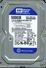 WESTERN DIGITAL SATA 500GB WD5000AAKS-00WWPA0,  DANNHTJAHN