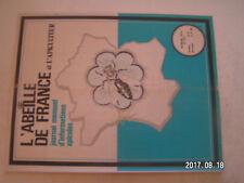 ** L'abeille de France n°547 les produits de la ruche et la plublicité
