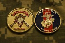 Challenge Coin US Marine Corps 8th Prior Service Recruiting Desperados