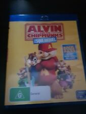 ALVIN AND THE CHIPMUNKS 2 - THE SQUEAKQUEL BLU-RAY like new free post blu ray