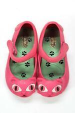 Mini Melissa Ultragirl Fuschia PInk Cat Shoes Size 7 toddler Girl Jellies $54