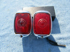 1937-1938 CHEVROLET TAIL LIGHTS PAIR