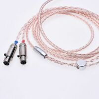 Hi-end HiFi cable Headphone Upgrade Cable for Audeze LCD-2 LCD-3 LCD-X LCD-XC