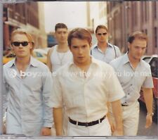 Boyzone-I Love The Way You Love Me cd maxi single