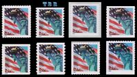 3978-85 3985 3985b Lady Liberty Flag 39c Complete Set 8 From 2006 MNH - Buy Now