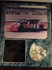 NASCAR Rare Vintage Jeff Gordon The Kid Wall Plaque Collectible Gift
