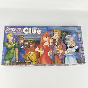 Scooby-Doo Where Are You Clue Board Game USAopoly Parker Brothers Complete!