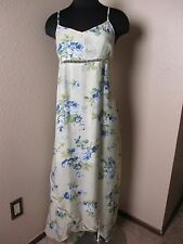 L Space Dress Misty Cover-up Floral Sleeveless Maxi Size Large L New