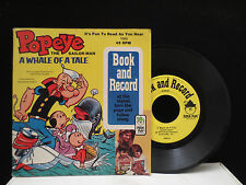 Popeye The Sailor Man - A Whale Of  A Tale on Peter Pan Records 1969 45RPM