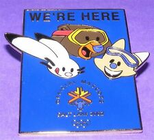 "SALT LAKE CITY 2002 Olympic Games MASCOTS Birth ""We're Here!"" PIN Collectible!"