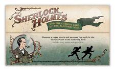 Alderney  2011 Sherlock Holmes blok-.m/s   mystery pack  postfris/MNH