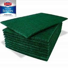 More details for 40 large abrasive scourer pads green scrub kitchen pot cleaner scrubber 9