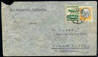 GERMANY TO ARGENTINA Air Mail Cover 1936, VF