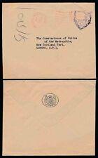 Go officiel 1961 payé machine + royal courts of justice au commissaire de police