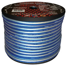 Orion Car Audio S10300PB Cobalt Orion Speaker Wire 10 Gauge Blue/clear 300ft