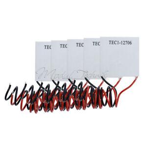 1/5/10 TEC1-12706 12V 60W TEC Peltierelement Modul Peltier Element Kühlen Heizen