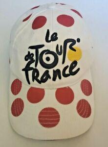 Le Tour de France Hat, Supermarche Champion Red Polka Dot