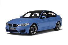 1:18 GT Spirit GT055 BMW F80 M3 Saloon. Yas Marina Blue