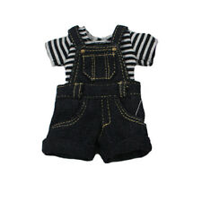 "Takara 12"" Blythe Doll outfits-The Black Cowboy Suspenders And T-shirt"