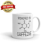 Powered By Caffeine Formula Geek Nerd Funny Tea Coffee Ceramic Mug