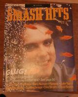 Smash Hits Mag 1986 - The Cure, Prince, Gary Numan, David Bowie, Dire Straits