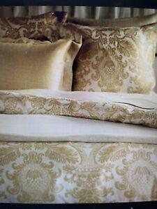 Dorset by SDH Queen  Linen Duvet Cover color Dijon