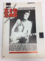 1983 ZIG ZAG UK music Magazine PSYCHEDELIC FURS COVER The Fall Billy Bragg