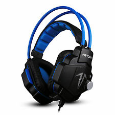 HIPOINT GAMING HEADSET MIC HEADPHONES STEREO SURROUND FOR PC LAPTOP PS4 X90