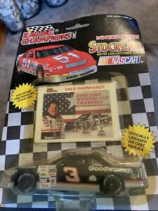 VINTAGE Dale Earnhardt 1993 Racing Champions #3 Goodwrench Monte Carlo, 1:43
