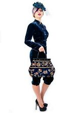 CLASSIC VICTORIAN-STYLE MARY POPPINS CARPET BAG. NEW