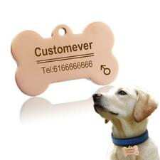 Custom Dog Cat Tags In Stainless Steel Pet ID Name Personalized Collar Tag