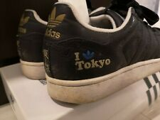 adidas SUPER STAR TOKYO Black adidas 35th anniversary superstar US 9.5