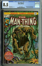 Man-Thing # 1 CGC 8.5   2nd howard the duck