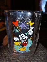 McDonald's Walt Disney World Celebration 2000 Glass Mickey Mouse Magic Kingdom