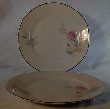 "CROWN BAVARIA china FANTASY pattern Set of Two (2) Salad Plates @ 8"""