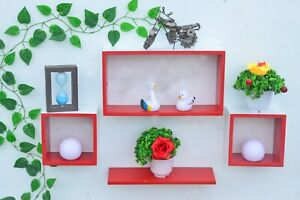 Indian Designer Intersecting Wall Shelve A Set Of 3 Pcs For Home Decoration