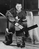 Johnny Bower Toronto Maple Leafs - Unsigned 8x10 Photo