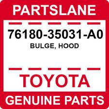 76180-35031-A0 Toyota OEM Genuine BULGE, HOOD