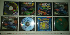 Lot of 7 PC Games and 1 Pokémon Project Studio Blue Version