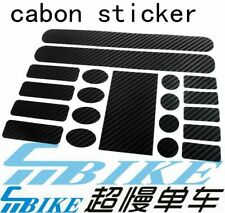 ACE Carbon Strike Chainstay & Frame Protector Sticker Set for Brompton Bicycle