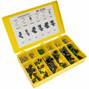 WP-170 - 178 Piece Delphi Weather Pack 1-3 Way Sealed Electrical Connector Kit