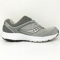 Saucony Womens Cohesion 10 S15362-10 Gray Running Shoes Lace Up Low Top Sz 7.5 W
