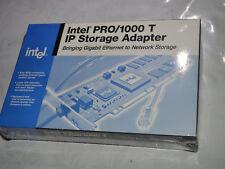 NOS-Intel PRO/1000 T IP Storage Adattatore Gigabit Ethernet PCI-X-UK Venditore