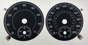 original Bentley Bentayga speedometer dial in MPH