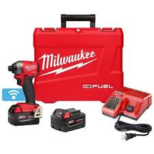 Milwaukee 2857-22 M18 FUEL 18V 1/4-Inch XC Hex Impact Driver Kit