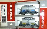 SBB Lonza 2 Partes Set Tanque Almacenamiento Fleischmann 841009 N 1:160