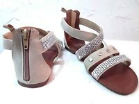 FADED GLORY - YOUTH SIZE 1,2,3, 4,5  JEWEL DESIGN STRAPS-GLADIATOR-SANDAL-SHOES